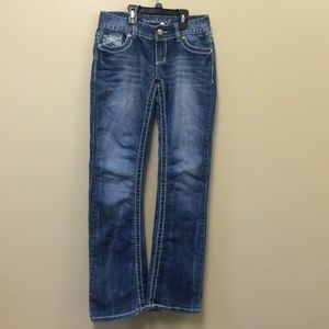*3/$20* Maurices boot cut jeans